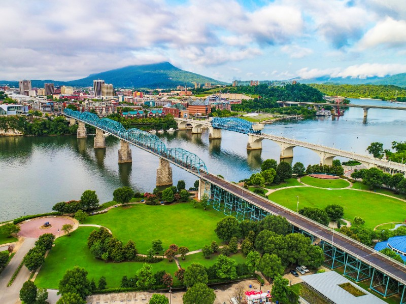 Chattanooga is among the top ten cities in the United States for remote workers to live