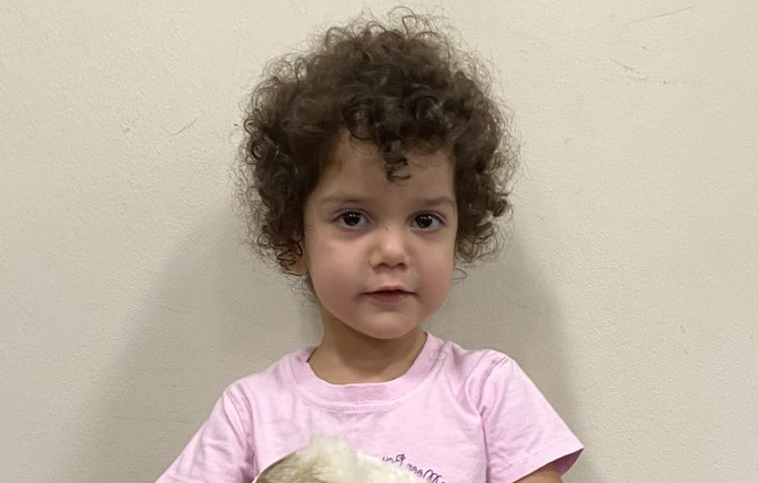 Toddler left with off-duty officer at hospital by woman who then vanished, police appeal for help